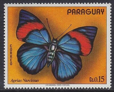 Paraguay 1973 - Farfalle - Butterfly - C. 15 - Mnh