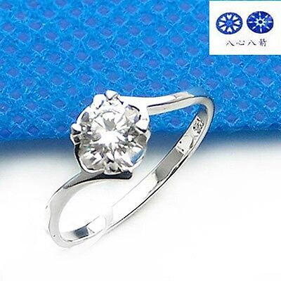 ViVi Ladies Engagement sterling silver Diamond Ring 8429a Birthday Gifts for Her