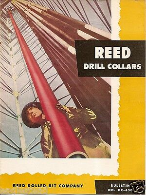 Equipment Brochure - Reed - Drill Collars - Oil Gas Drilling - 1950 (EB421)