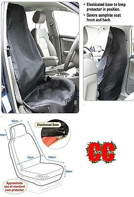 car protective FULL seat cover single protector UNIVERSAL Quality HEAVYWEIGHT