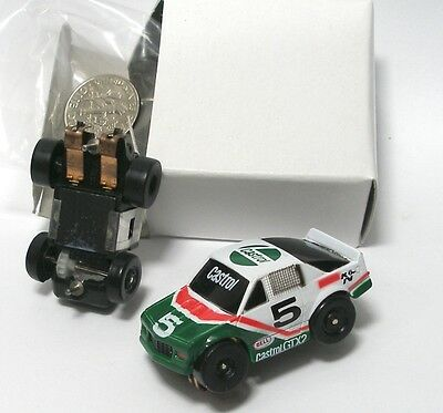 1990 Galoob Micro Machines 1/87th Castrol Monte Carlo Slot Car NOS MIB
