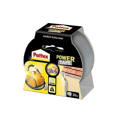 RUBAN ADHESIF EXTRA FORT GRIS 10 M POWER TAPE PATTEX resiste ETANCHE JARDINAGE