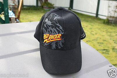 Ball Cap Hat - Red Racer - Beer - Woman Bicycle Central City Surrey BC (H623)