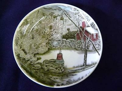 "JOHNSON BROS FRIENDLY VILLAGE ""THE WELL"" PORCELAIN COASTER"