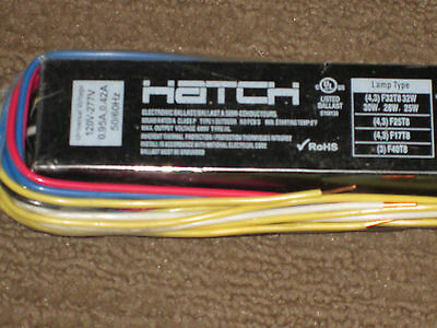 Hatch HL432BIS/UV/HE/W Electronic T8 Fluorescent Ballast