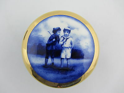 Lord Nelson Ware Two Boys Large Pill Box