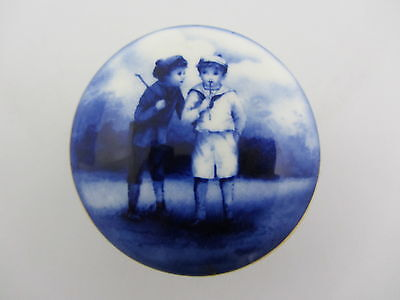 Lord Nelson Ware Two Boys Small Pill Box