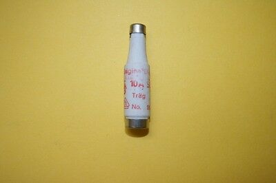 SIEMENS DIAZED BOTTLE FUSE 5sa2  10A  500V    fd7e16