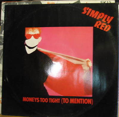 """SIMPLY RED Money's Too tight (to mention)Open Up The Red Box/Every Bit Of Me 12"""""""