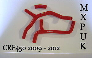 414 CRF250 2011 SILICONE HOSES IN BLACK MXPUK 2010 CRF 250 HOSE KIT CRF250R