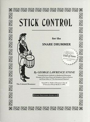 George Lawrence Stone Stick Control For The Snare Drummer, Study - 9781892764041