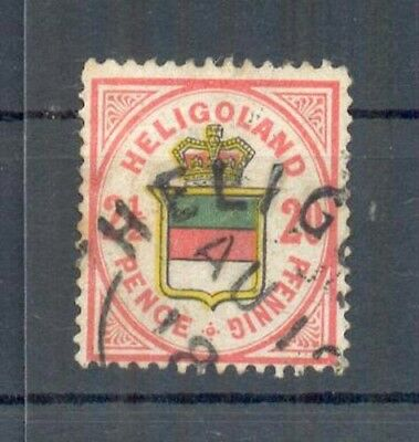 Helgoland 18f FARBE! gest. 90EUR (27575