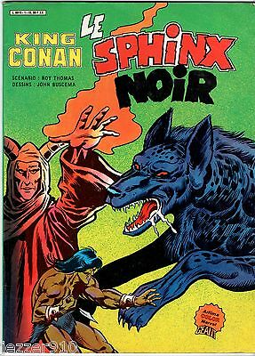 King Conan ° Le Sphinx Noir ° 1984 ° Artima Color Marvel Geant