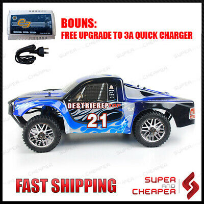 HSP 1/10 2.4Ghz RC Car Brushless Short Course Rally Truck Pro+ Lipo Battery