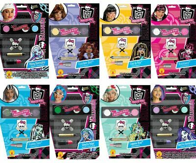 Choose Child TV Show Doll Monster High School Girl Costume Makeup Accessory Kit