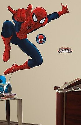 """ULTIMATE SPIDERMAN 53"""" Giant Wall Mural Vinyl Decals Marvel Room Decor Stickers"""