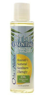 Oils Of Aloha Kukui Essential After Sun Oil ~ 12 / 4.23 Oz