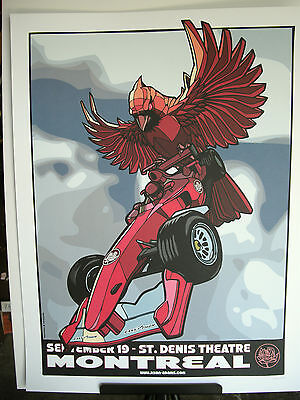 2007 Ryan Adams Montreal St Denis Threatre Concert Poster September 19