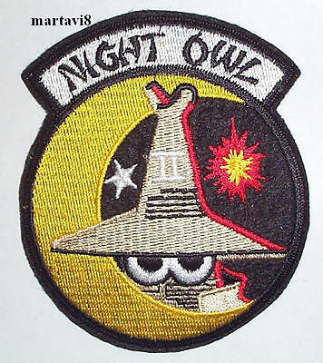 Royal Air Force Phantom `NIGHT OWL` Aircraft Cloth Patch / Badge (P2)