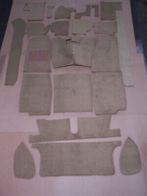 Mgb 62-67 Biscuit Tan Cut Pile Carpet Kit With 20 Ounce Padding