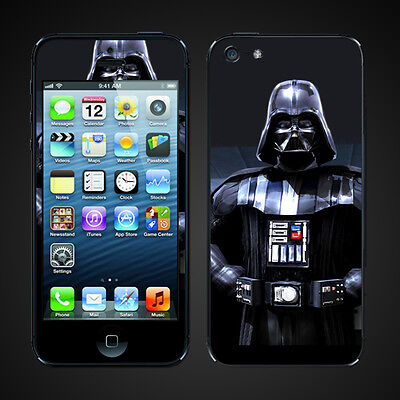 iphone 5 vinyl Skins Kit - Darth Vader Lord Vader Star Wars