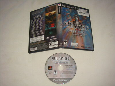 Final Fantasy XI : Chains of Promathia Expansion Pack - PS2 PlayStation 2 game T