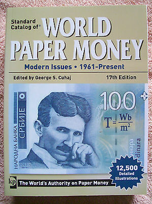 KRAUSE 2011 WORLD BANKNOTE CATALOGUE Modern Issues 1961 - present 17th Edition