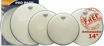 Remo Ambassador Coated Fusion Drum Head Value Pack PP-0110-BA
