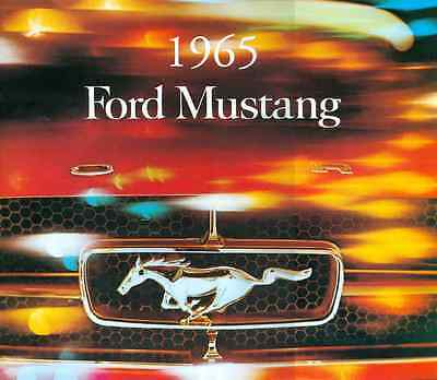 "1965    Mustang  Sales Brochure-New-10"" X 11"", 14 Pages"