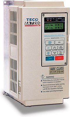 20HP 460V VFD TECO WESTINGHOUSE VARIABLE FREQUENCY DRIVE  MA7200-4020-N1