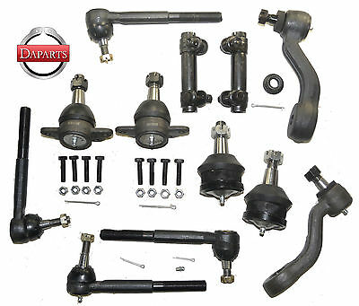 1994 Chevrolet 2500 Suspension & Steering Parts Rack End Ball Joints Pitman Arm
