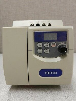 1HP 3PH 460V VFD TECO WESTINGHOUSE VARIABLE FREQUENCY DRIVE  JNEV-401-H3