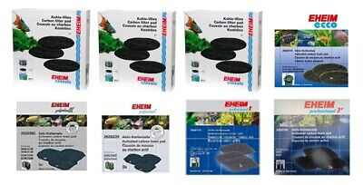 Eheim Carbon Pad For Classic/ecco/pro2/pro3 External Fish Tank Filter Media Foam
