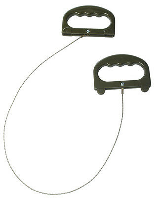 Drahtsäge Mil-Tec® mit Griffen, Outdoor, Camping, Army      -NEU-