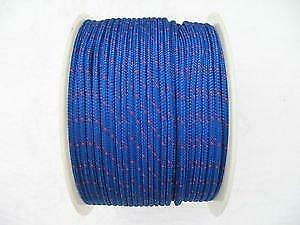 6MM x 175 Metre Blue/Red Kernmantle PolyPropylene Rope - 16 Plait Double Braided