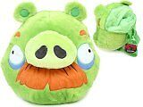 ANGRY BIRDS GREEN PIG PLUSH DOLLS BACKPACK FITS KIDS TO ADULTS 100% ORIGINAL