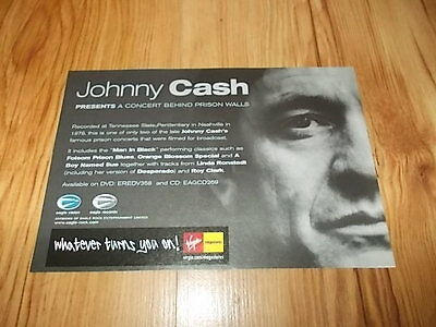 Johnny Cash-magazine advert