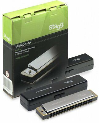 Stagg Howlin Harp Tremolo Diatonic Harmonica in C major BJH-T32