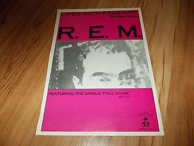R.E.M-magazine advert