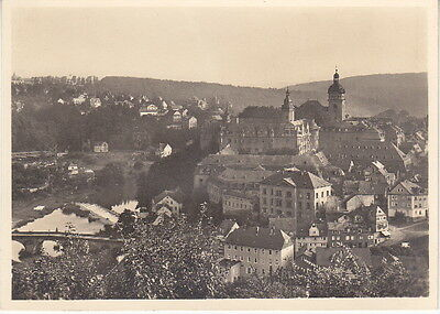 SCHLOSS WEILBURG GERMANY - Pre-WW2 Vintage GERMAN PHOTO POSTCARD