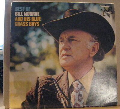 BILL MONROE and his BLUEGRASS BOYS best of
