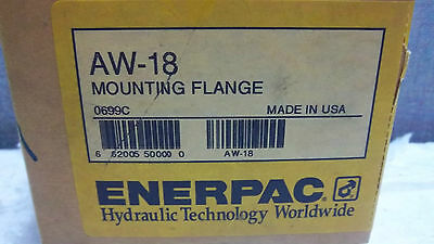 Enerpac Mounting Flange Aw-18 New Aw18