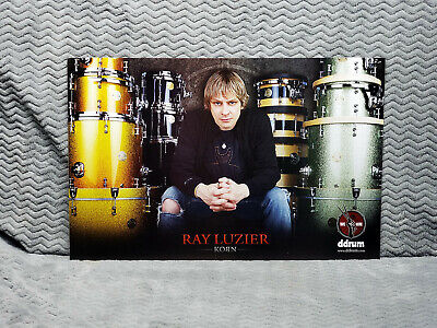 TWO    Korn *Ray Luzier* Ddrum Promo Posters