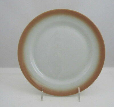 "Shenango China Lawrence Ware Dinner Plate w Yellow to Peach Decoration, 9"" dia"