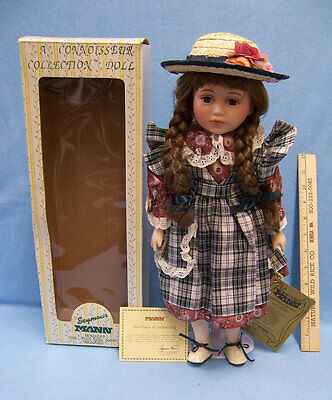 Seymour Mann Connoisseur Collection Doll Stand Porcelain 16 Inch