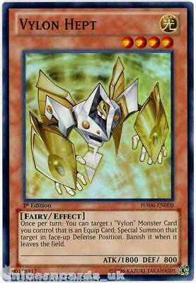 HA06-EN008 Vylon Hept Super Rare 1st Edition Mint YuGiOh Card