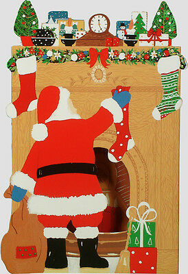 42 Courtier 3D Father Christmas Cards XC0004