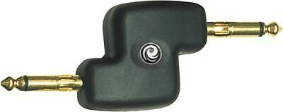 """Planet Waves PW-P047B 1/4"""" Male Offset Coupler Adaptor"""