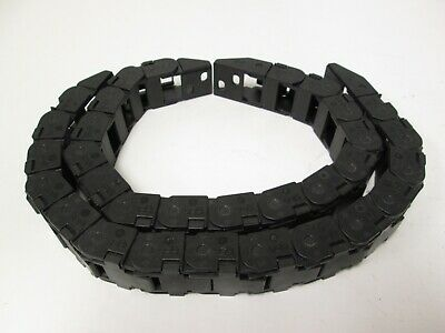 "Lot of 2 Igus 15.2.38 Energy Chain 12-3/4"" Length 1"" Wide 5/8"" Deep"