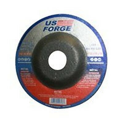 "New Us Forge Lot (6) Metal Grinding Wheels 4 1/2"" X 7/8"" Arbor Sale 6189302"